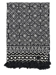 Aniza Nah Hand Embroidered Wool Throw