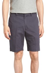 Bills Khakis Big And Tall M2 Classic Fit Flat Front Vintage Twill Shorts Navy
