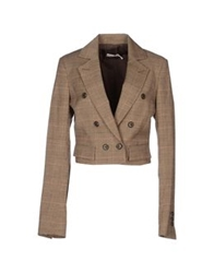 Pinko Blazers Dark Brown