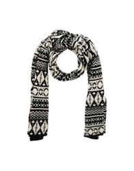 Stefanel Oblong Scarves Black