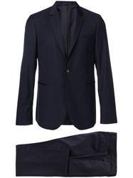 Paul Smith Ps By Two Piece Formal Suit Black
