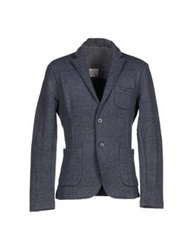 Obvious Basic By Paolo Pecora Blazers Dark Blue