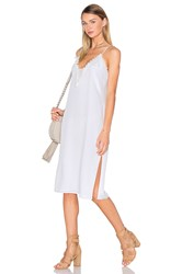 House Of Harlow X Revolve Stella Sheer Inset Slip Dress Ivory