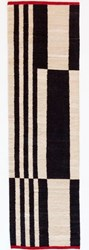 Nani Marquina Melange Stripes Runner Black