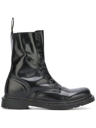 Vetements High Shine Boots Black