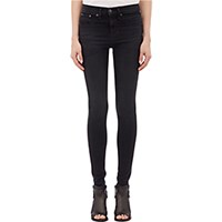 Rag And Bone Women's High Rise Legging Jeans Black