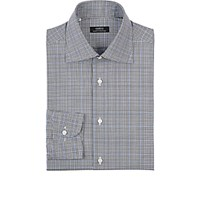 Fairfax Men's Glen Plaid Shirt Black Blue Black Blue