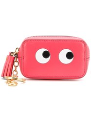 Anya Hindmarch Eyes Coin Purse Pink And Purple