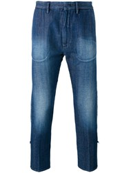 Pence Baldo Jeans Men Cotton 44 Blue