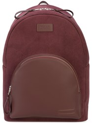 Valas Round Top Backpack Red