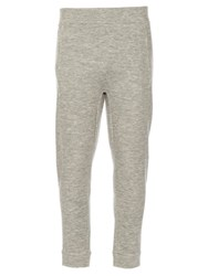 Raey Pocket Front Cashmere Blend Track Pants Grey