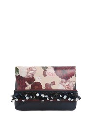 Mother Of Pearl Noel Small Clutch Red