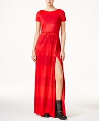 Tommy Hilfiger Tommyxgigi Colorblocked Maxi Dress Apple Red