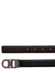 Salvatore Ferragamo 30Mm Reversible Saffiano Leather Belt