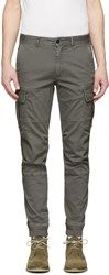 Belstaff Grey Forge Cargo Pants