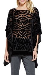 Women's Vince Camuto Velvet Burn Out Poncho