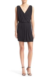 Women's The Kooples Sleeveless Faux Wrap Dress