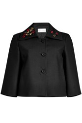 Red Valentino R.E.D. Embroidered Swing Jacket