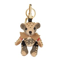 Burberry Shoes And Accessories Thomas Stud Bow Bear Charm Female Camel