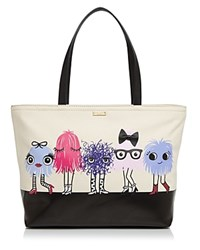 Kate Spade New York Imagination Monsters Party Francis Tote Multi