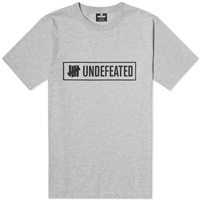 Undefeated Outline Tee Grey Heather