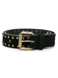 Talie Nk Suede Belt Women Leather P Black