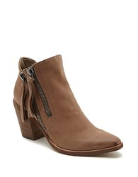 Dolce Vita Wade Leather Ankle Boots Light Taupe