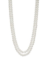 Saks Fifth Avenue 8Mm Simulated Pearl Necklace 60