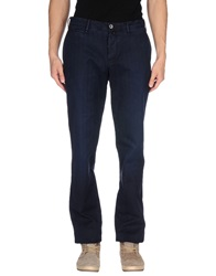 Icon Casual Pants Dark Blue