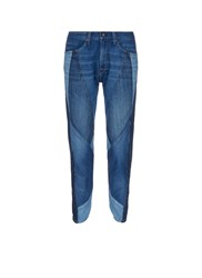 Rag And Bone 'Patched Engineer' Patchwork Boyfriend Denim Pants Blue