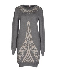 1 One Dresses Short Dresses Women Grey