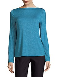Marc New York Strappy Back Sweater Teal