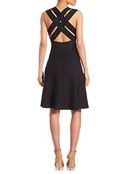A.L.C. Wolff Fit And Flare Dress Black