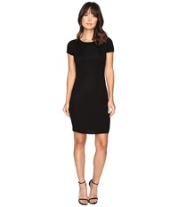 Culture Phit Germaine Ribbed Bodycon Sweater Dress Black Women's Dress