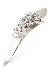 Ficcare 'Maximus Victorian' Crystal Embellished Hair Clip Silver