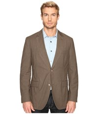 Kroon Taylor Two Button Coat Taupe Men's Coat