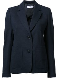 Closed Two Button Blazer Blue