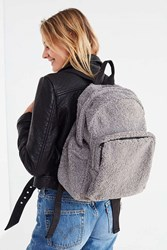 Urban Outfitters Teddy Backpack Grey