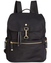 Calvin Klein Clip Backpack A Macy's Exclusive Style Black Gold
