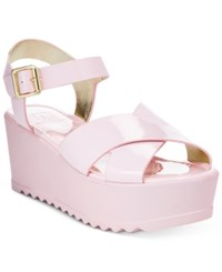 Material Girl Wave Flatform Wedge Sandals Only At Macy's Women's Shoes