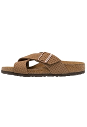 Birkenstock Tunis Slippers Kakao Brown