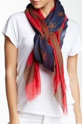 Free Press American Flag Scarf Red