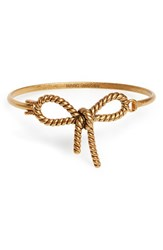 Marc By Marc Jacobs Women's Marc Jacobs Rope Bow Hinge Bracelet Gold