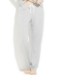 Tommy Hilfiger Modal Drawstring Pajama Pants Heather Grey