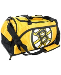 Forever Collectibles Boston Bruins Duffle Bag Team Color