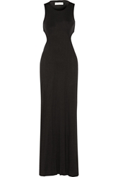 Thakoon Cutout Stretch Jersey Maxi Dress