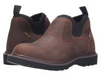 Carhartt Waterproof Romeo Bison Brown Women's Slip On Shoes