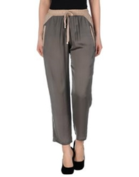 Nude Casual Pants Grey