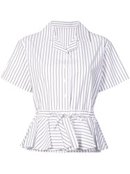 Tome Striped Short Sleeve Shirt Unavailable