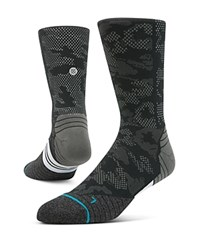 Stance Hysteric Camouflage Crew Socks Black